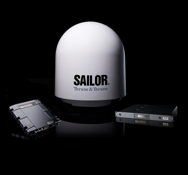 Thrane and Thrane Ku Band Sailor VSAT 900