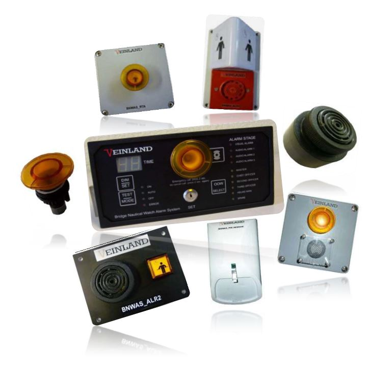 Veinland Bridge Navigation Watch Alarm System BNWAS