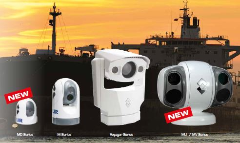 FLIR thermal imaging and low light cameras